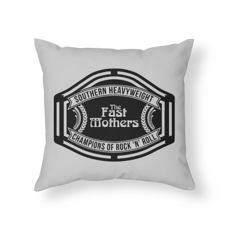 Champion Belt for Light Colors Home Throw Pillow by The Fast Mothers
