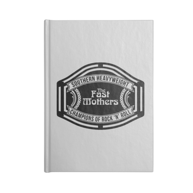 Champion Belt for Light Colors Accessories Notebook by The Fast Mothers