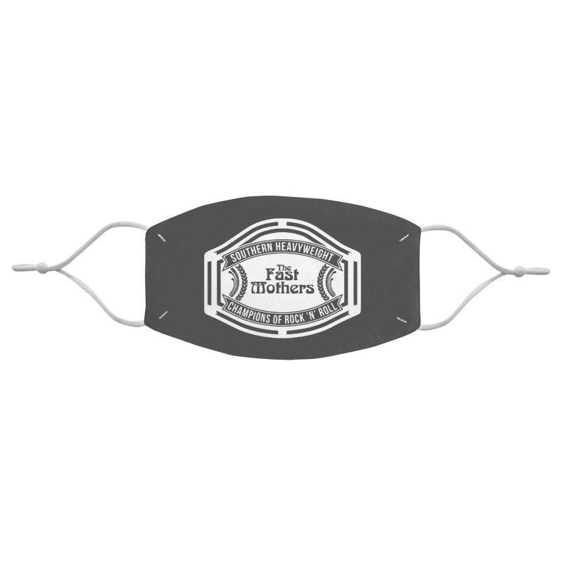 Champion Belt for Dark Colors Accessories Face Mask by The Fast Mothers