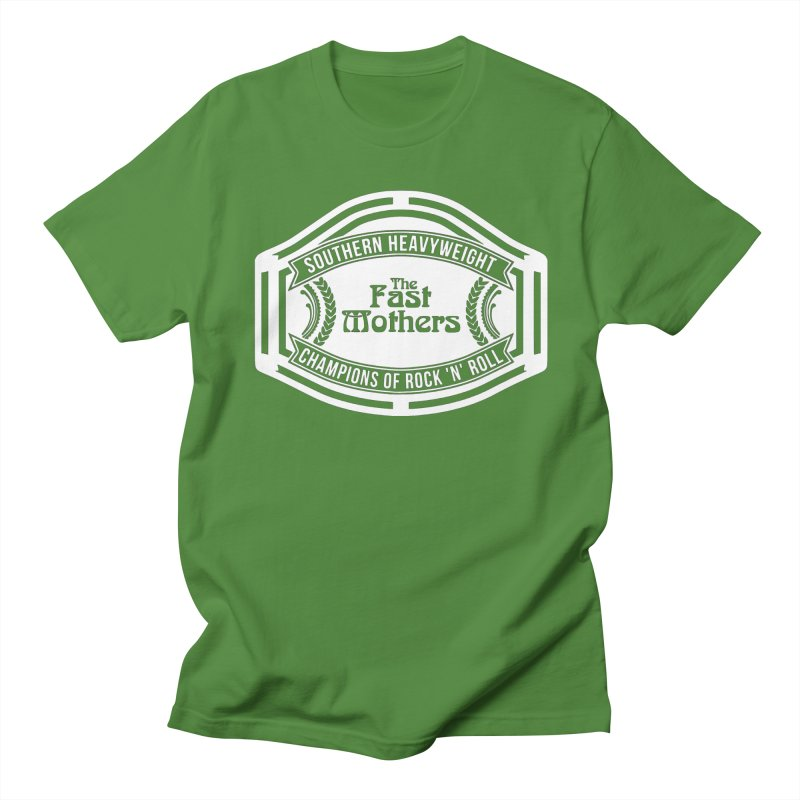 Champion Belt for Dark Colors Men's T-Shirt by The Fast Mothers