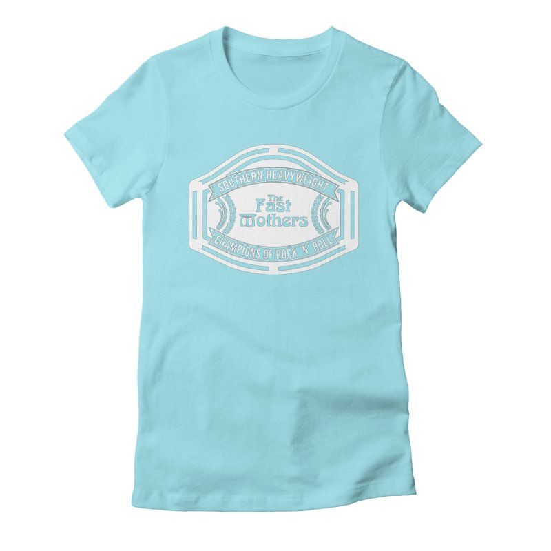 Champion Belt for Dark Colors Women's T-Shirt by The Fast Mothers