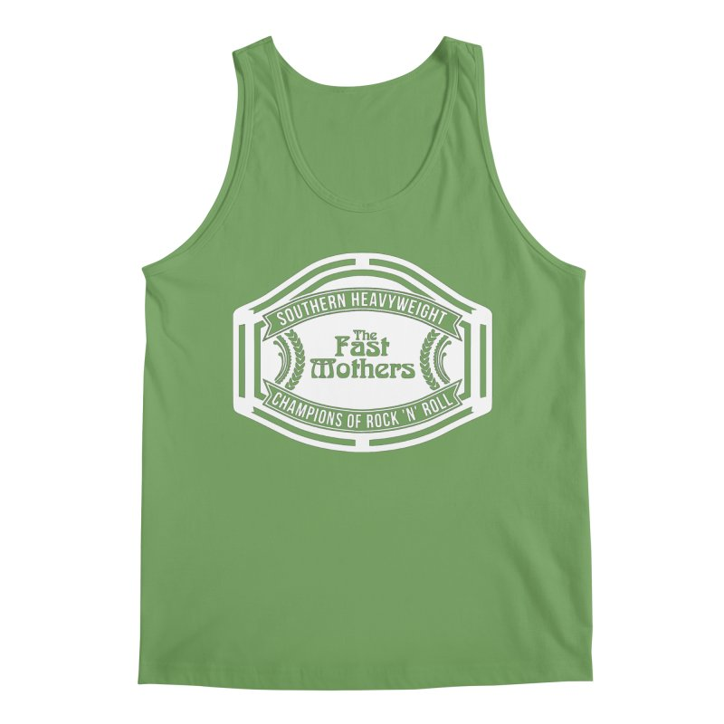 Champion Belt for Dark Colors Men's Tank by The Fast Mothers