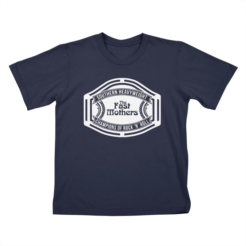 Champion Belt for Dark Colors Kids T-Shirt by The Fast Mothers