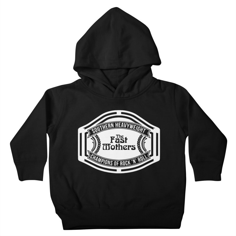 Champion Belt for Dark Colors Kids Toddler Pullover Hoody by The Fast Mothers