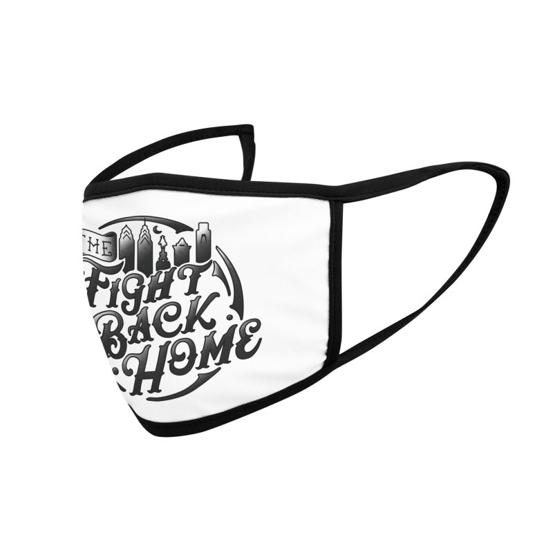 Emblem in Black Accessories Face Mask by The Fight Back Home Merch