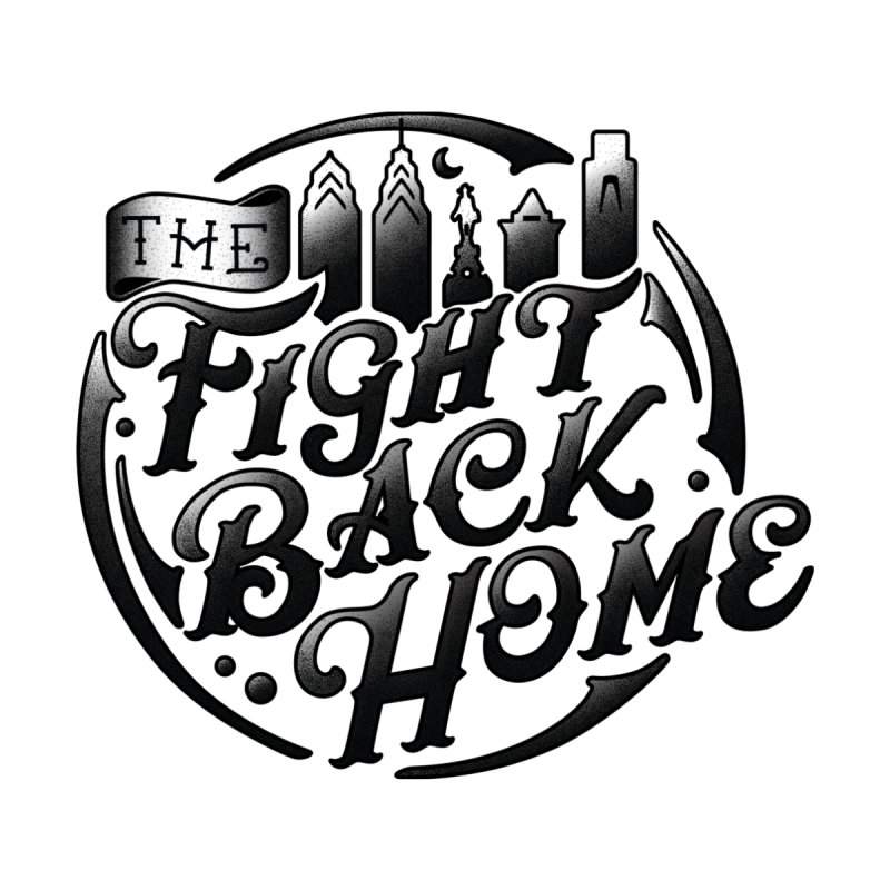 Emblem in Black Accessories Magnet by The Fight Back Home Merch