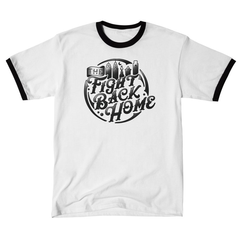 Emblem in Black Men's T-Shirt by The Fight Back Home Merch