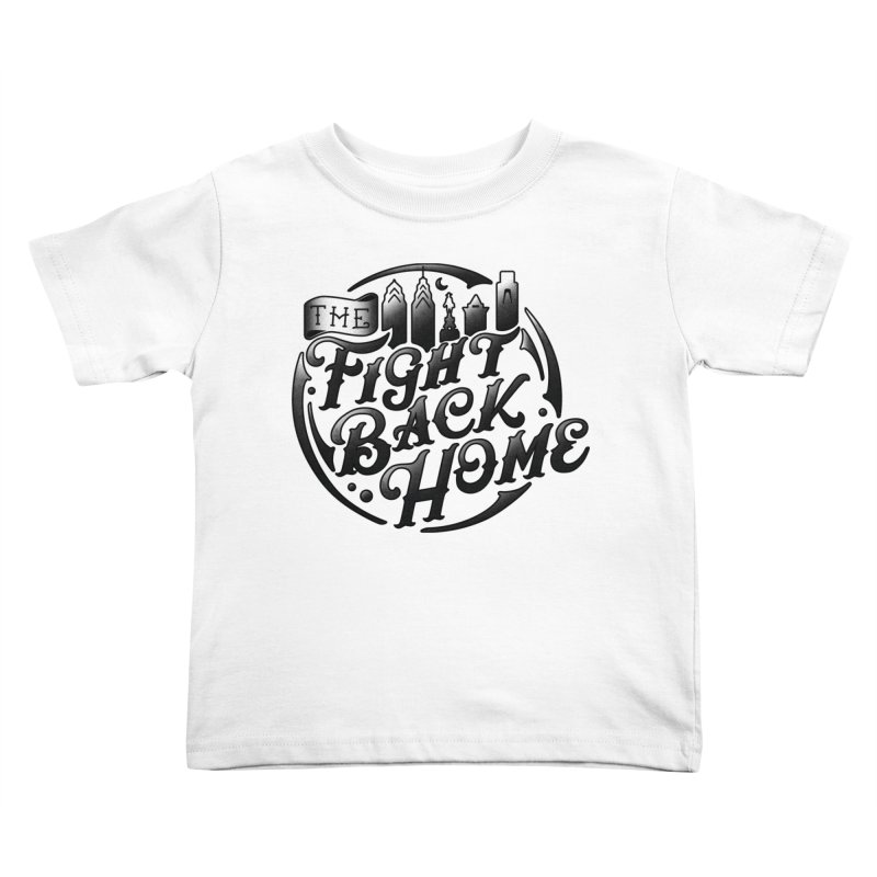 Emblem in Black Kids Toddler T-Shirt by The Fight Back Home Merch