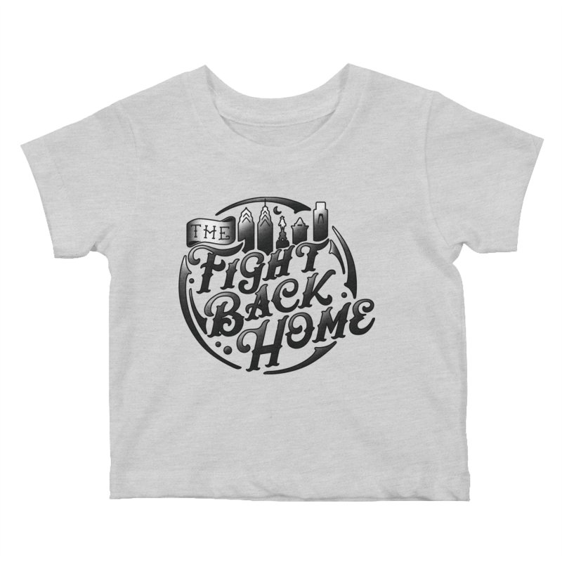 Emblem in Black Kids Baby T-Shirt by The Fight Back Home Merch