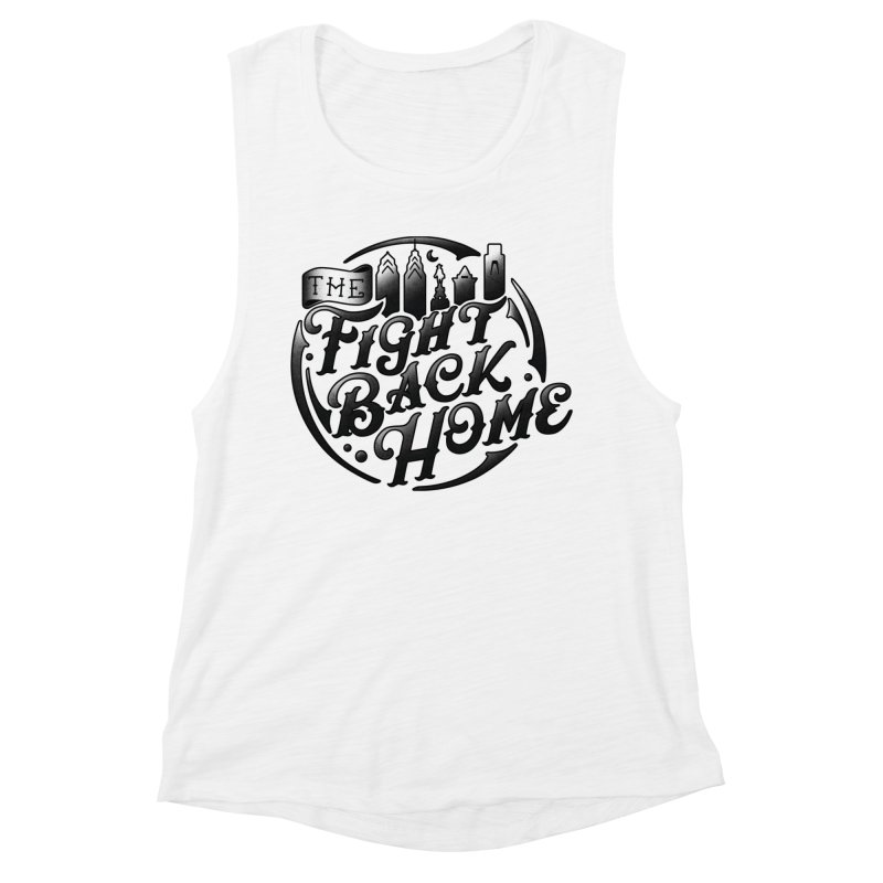 Emblem in Black Women's Tank by The Fight Back Home Merch