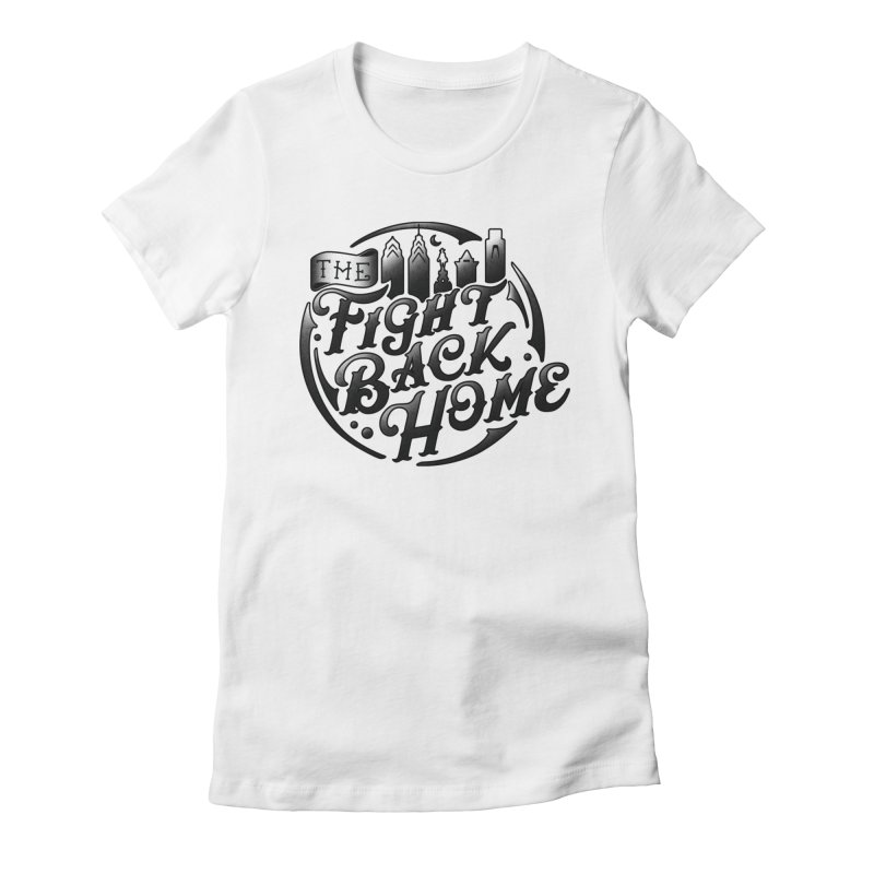 Emblem in Black Women's T-Shirt by The Fight Back Home Merch