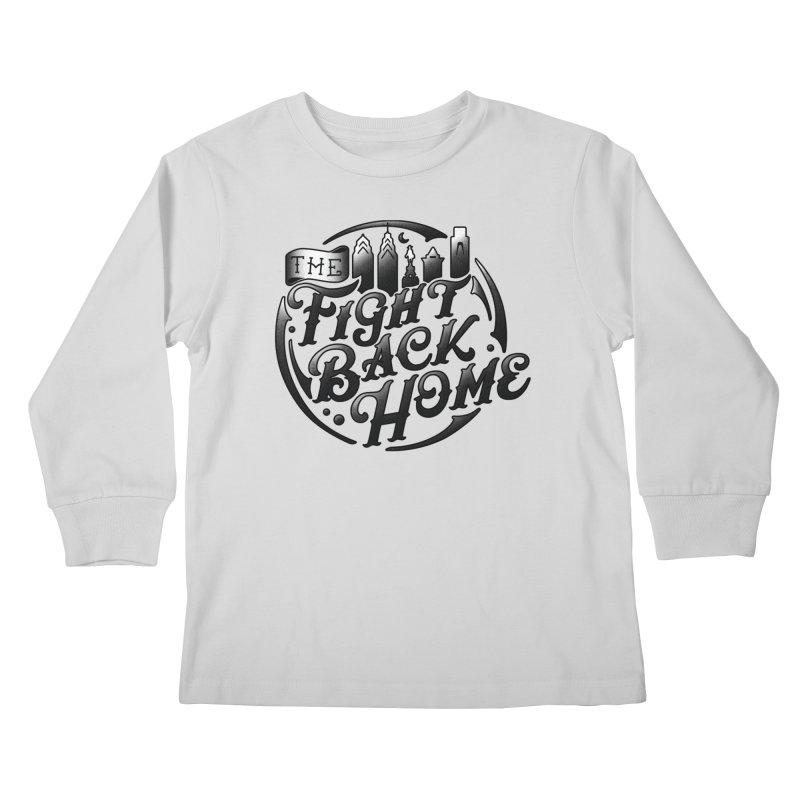 Emblem in Black Kids Longsleeve T-Shirt by The Fight Back Home Merch
