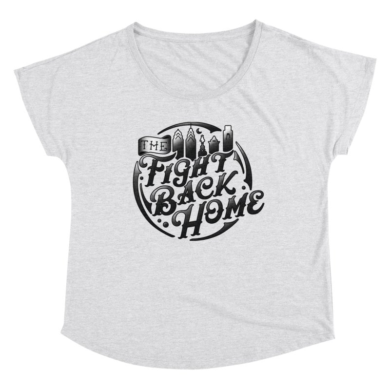 Emblem in Black Women's Scoop Neck by The Fight Back Home Merch