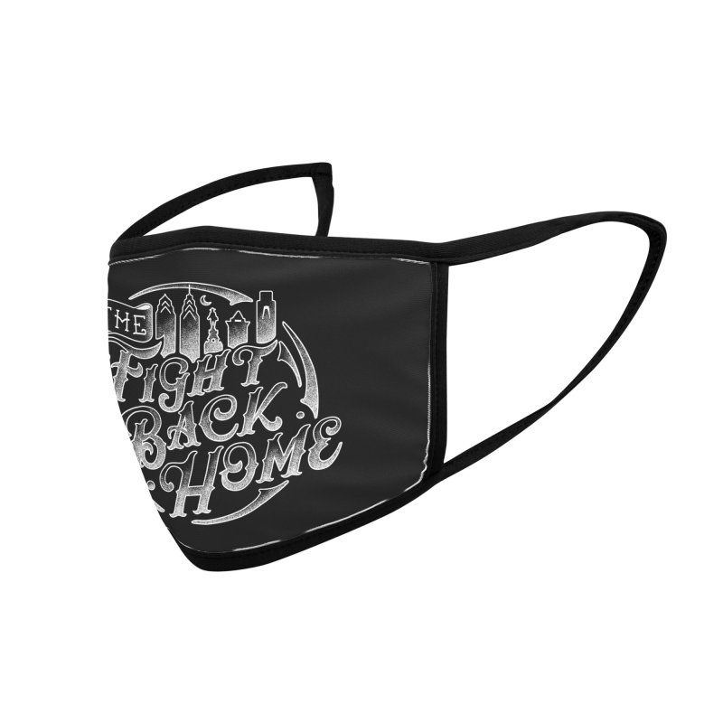 Emblem in White Accessories Face Mask by The Fight Back Home Merch