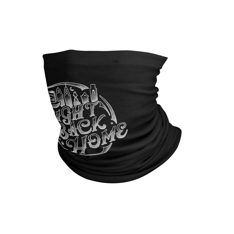Emblem in White Accessories Neck Gaiter by The Fight Back Home Merch