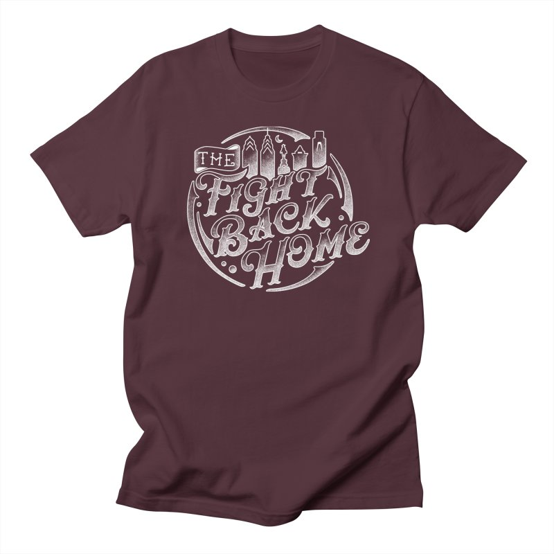 Emblem in White Men's T-Shirt by The Fight Back Home Merch