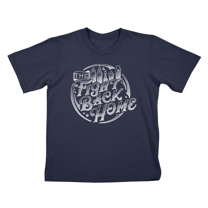 Emblem in White Kids T-Shirt by The Fight Back Home Merch