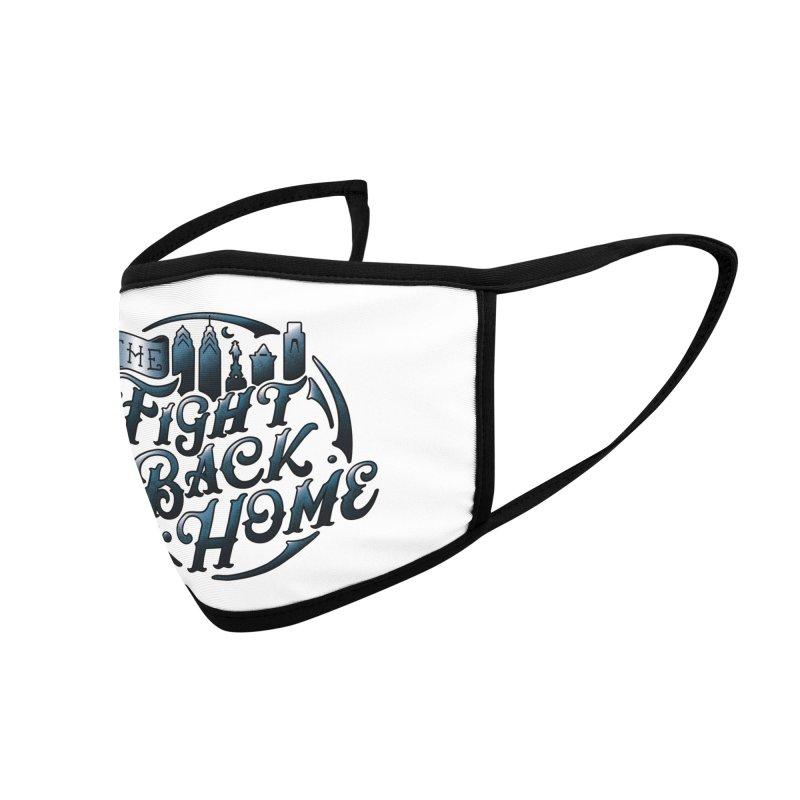 Emblem in Navy Accessories Face Mask by The Fight Back Home Merch