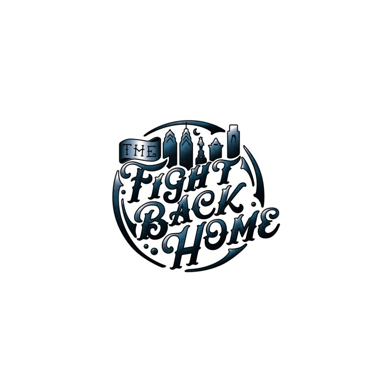 Emblem in Navy Accessories Sticker by The Fight Back Home Merch