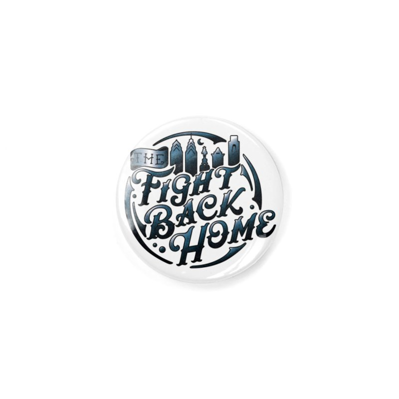Emblem in Navy Accessories Button by The Fight Back Home Merch