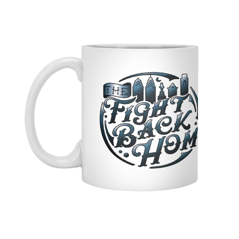 Emblem in Navy Accessories Mug by The Fight Back Home Merch
