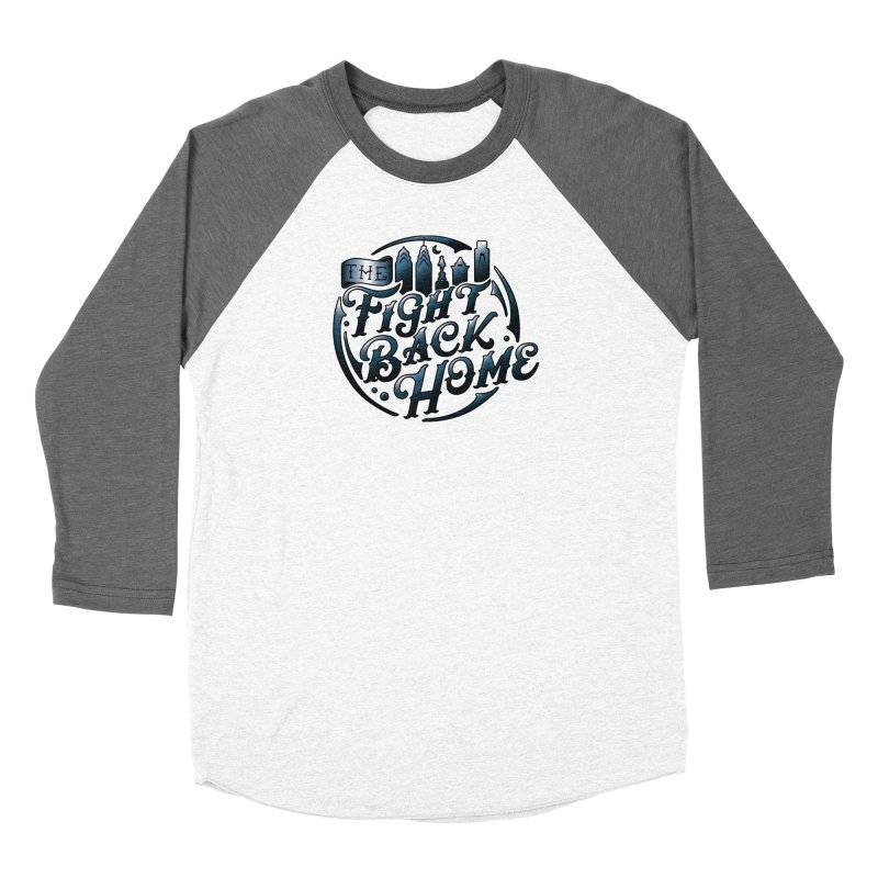 Emblem in Navy Women's Longsleeve T-Shirt by The Fight Back Home Merch