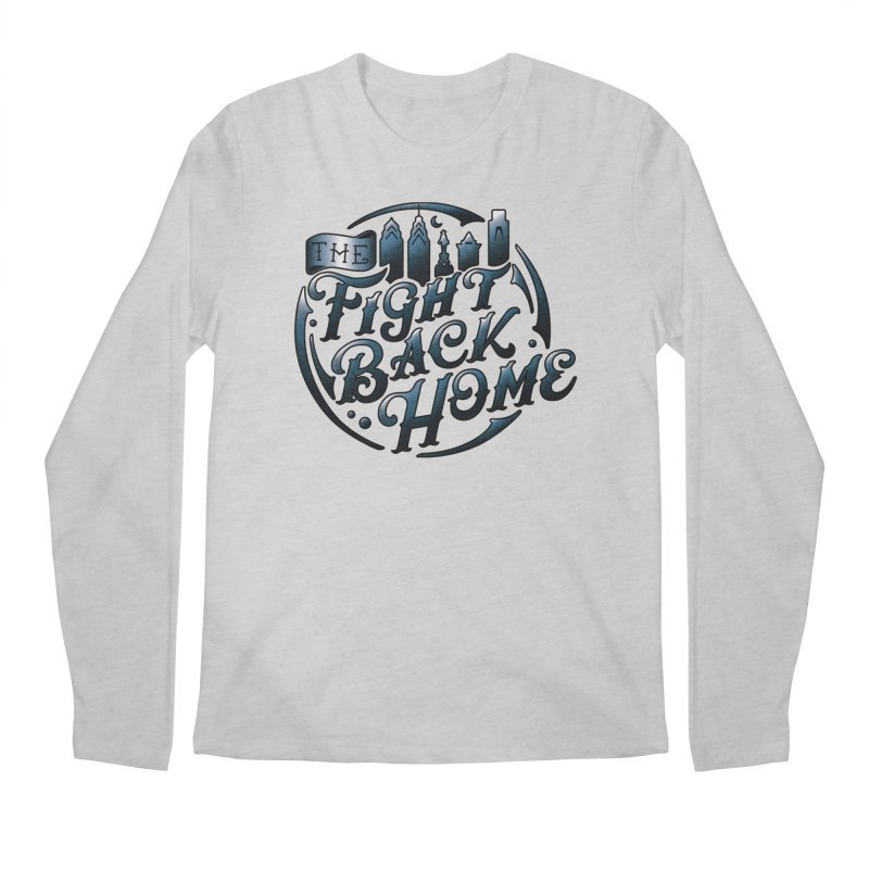 Emblem in Navy Men's Longsleeve T-Shirt by The Fight Back Home Merch