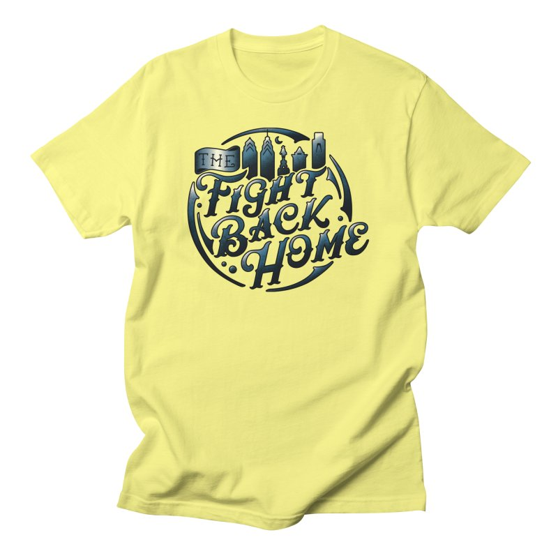 Emblem in Navy Men's T-Shirt by The Fight Back Home Merch