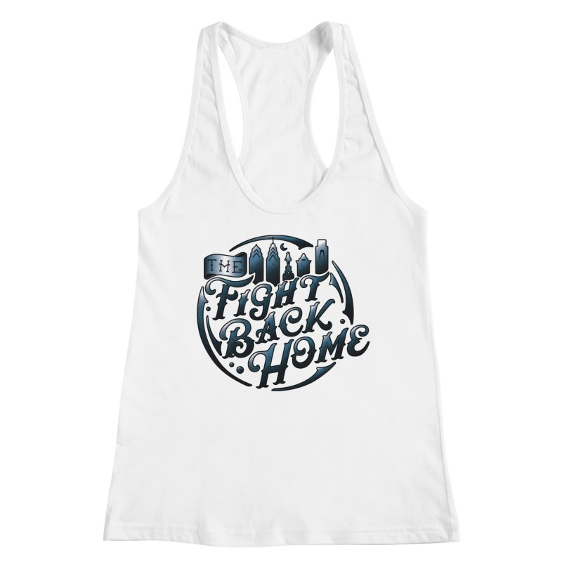 Emblem in Navy Women's Tank by The Fight Back Home Merch