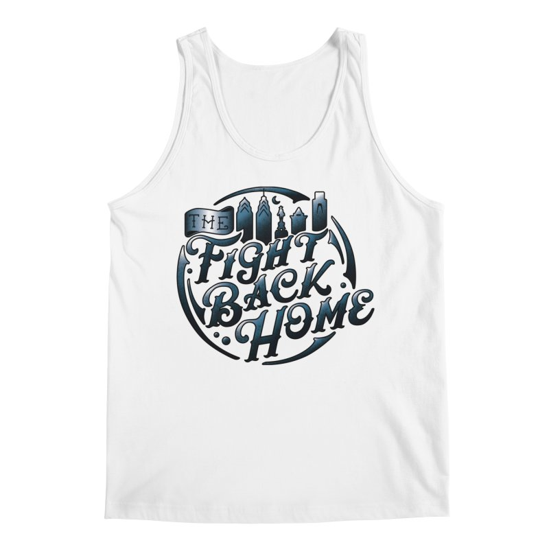 Emblem in Navy Men's Tank by The Fight Back Home Merch