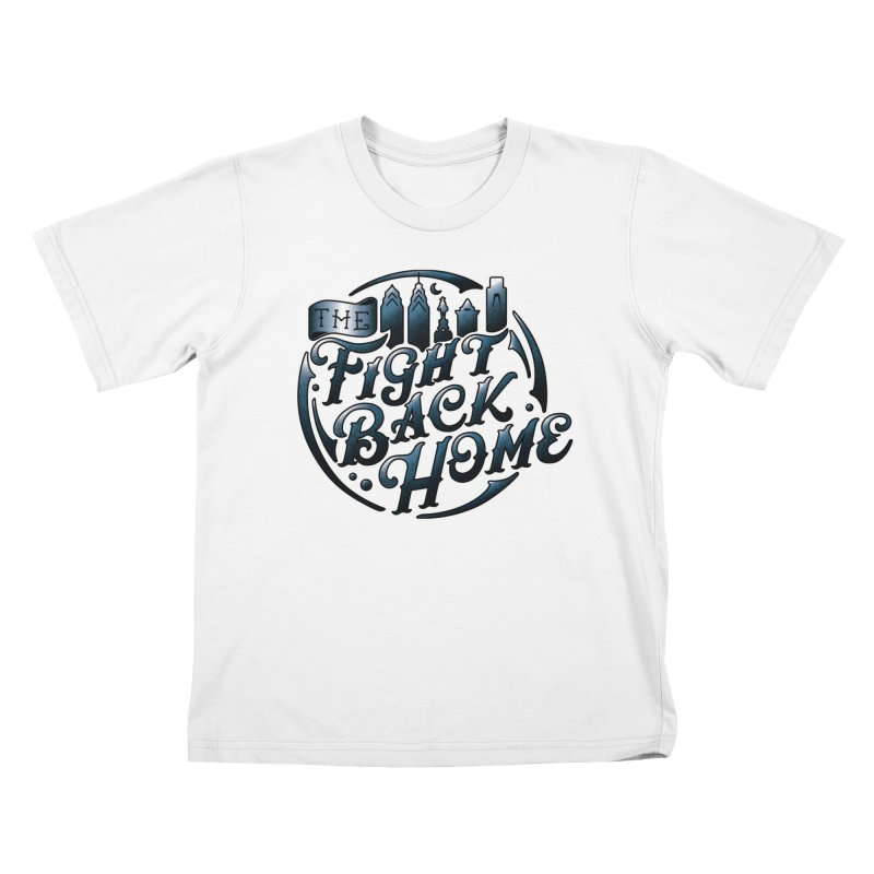 Emblem in Navy Kids T-Shirt by The Fight Back Home Merch