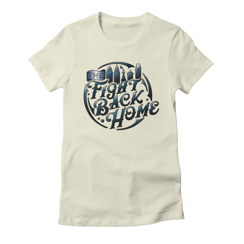 Emblem in Navy Women's T-Shirt by The Fight Back Home Merch