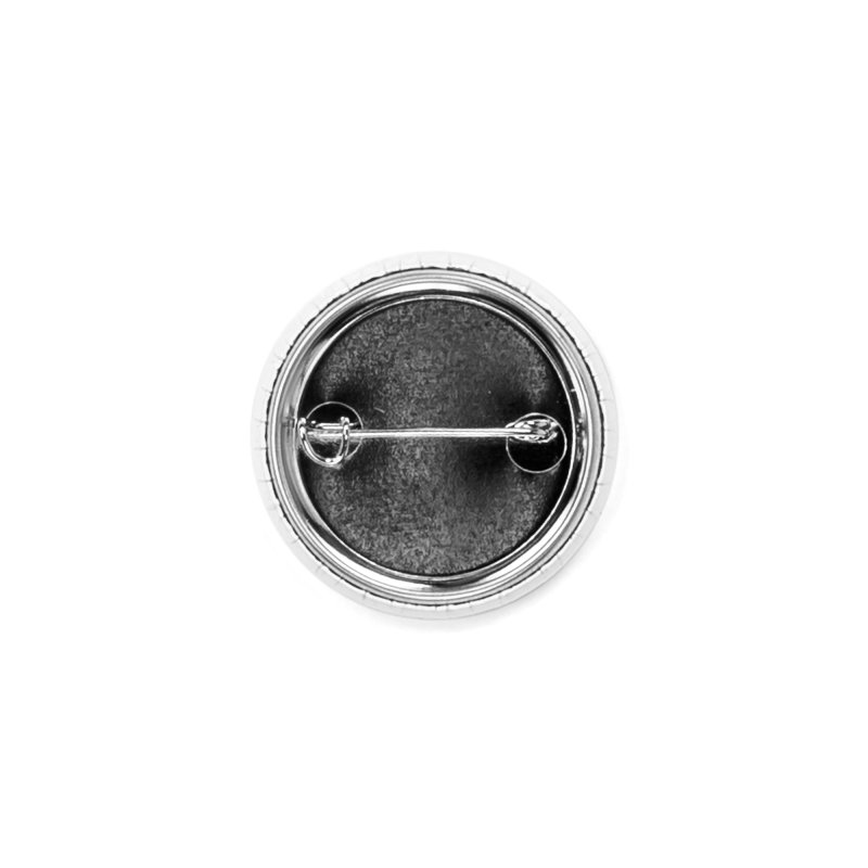 Wordmark in Black Accessories Button by The Fight Back Home Merch