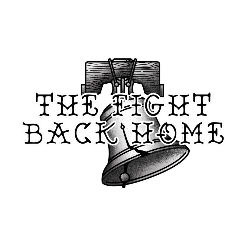 Wordmark in Black Accessories Magnet by The Fight Back Home Merch