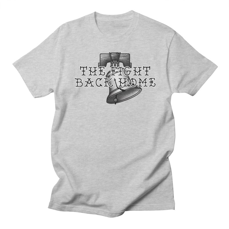 Wordmark in Black Men's T-Shirt by The Fight Back Home Merch