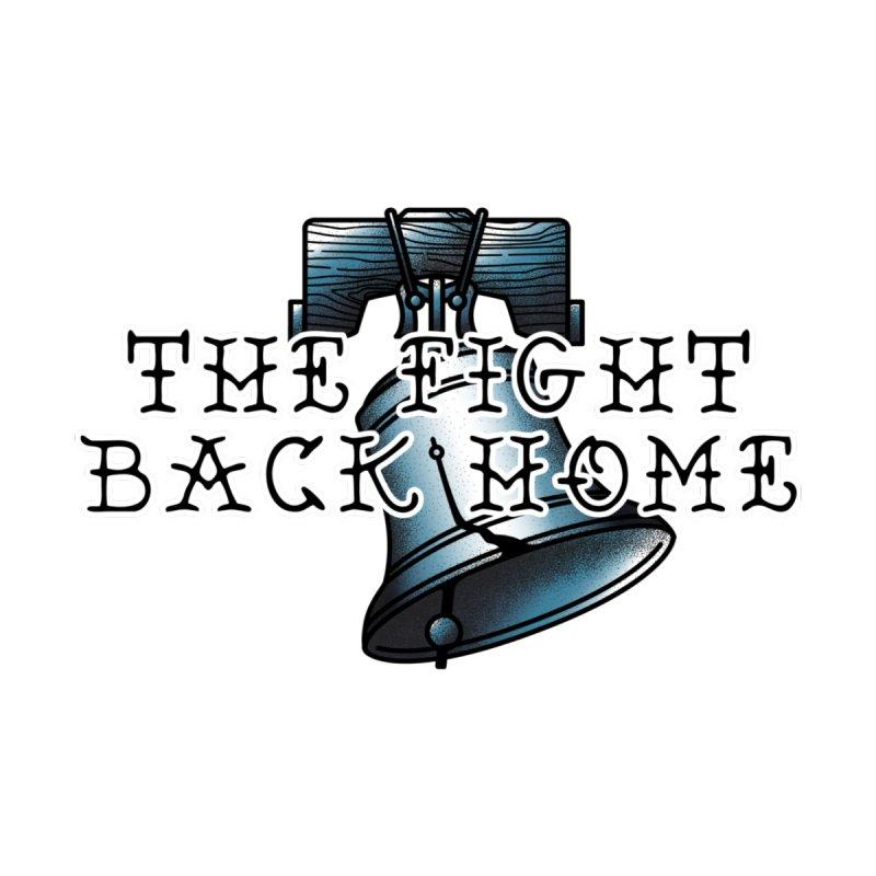 Wordmark in Navy Women's Scoop Neck by The Fight Back Home Merch