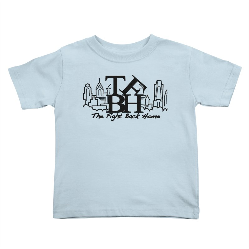 LOVE Logo Kids Toddler T-Shirt by The Fight Back Home Merch