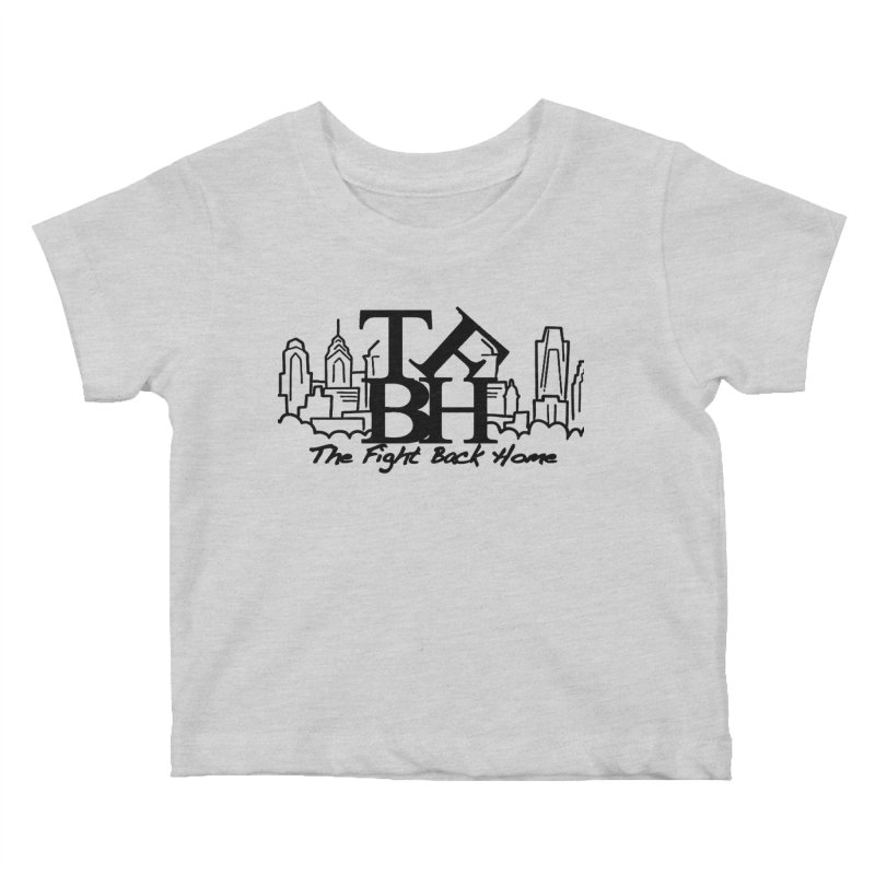LOVE Logo Kids Baby T-Shirt by The Fight Back Home Merch
