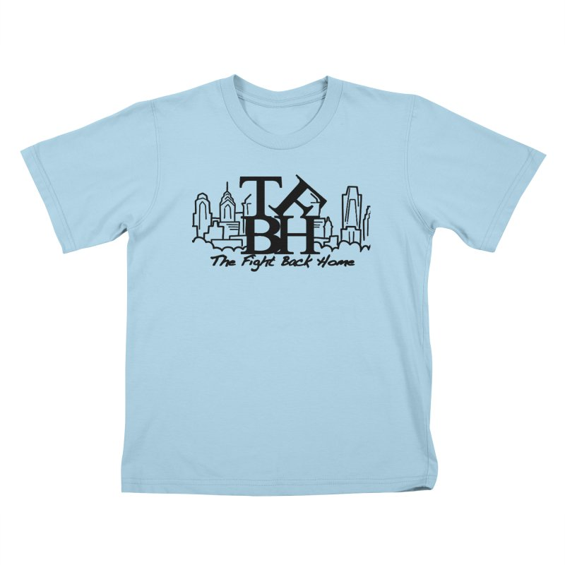 LOVE Logo Kids T-Shirt by The Fight Back Home Merch