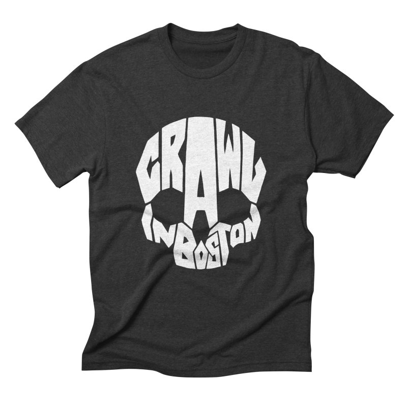 Pirate Crawl with Crawl In Boston Men's Triblend T-Shirt by The Final Boss