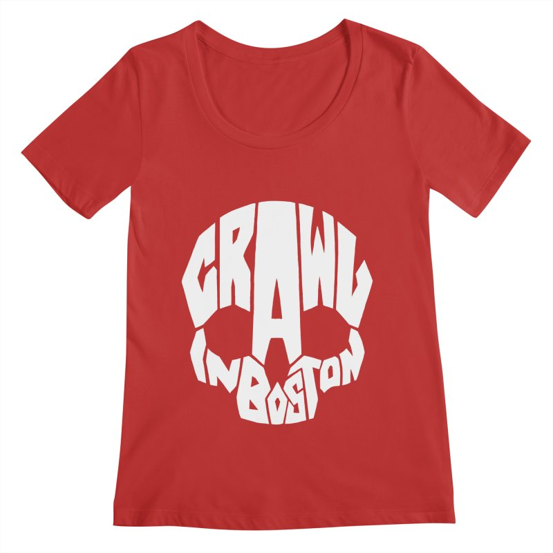 Pirate Crawl with Crawl In Boston Women's Regular Scoop Neck by The Final Boss