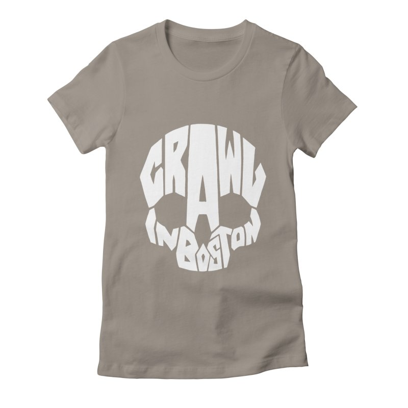 Pirate Crawl with Crawl In Boston Women's Fitted T-Shirt by The Final Boss