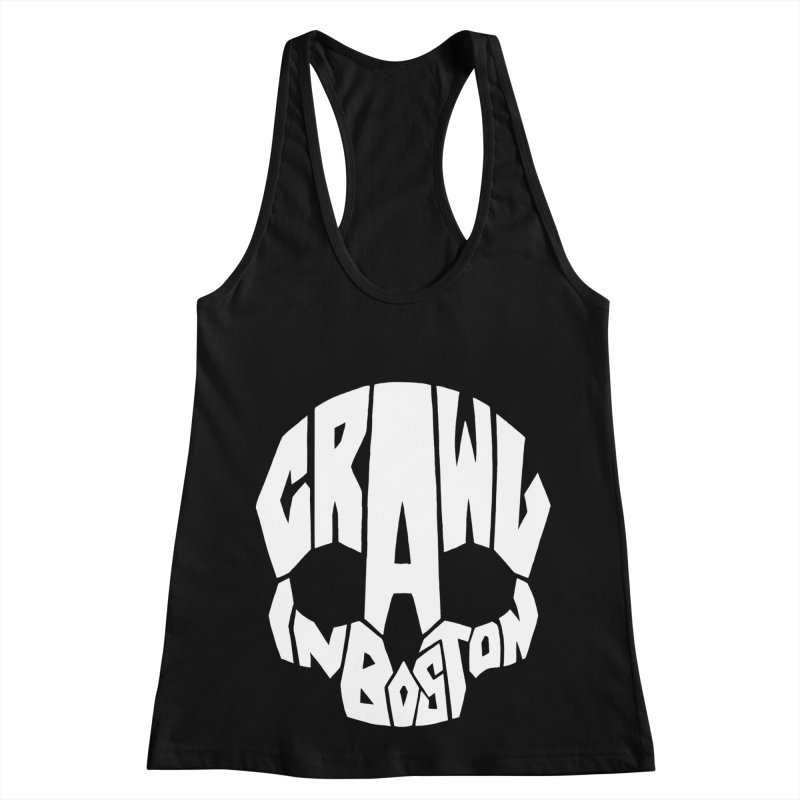 Pirate Crawl with Crawl In Boston Women's Racerback Tank by The Final Boss