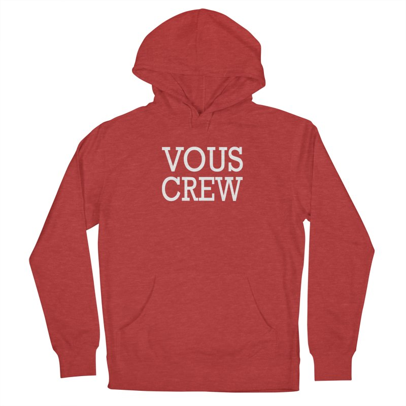 Vous Crew Men's Pullover Hoody by The Final Boss