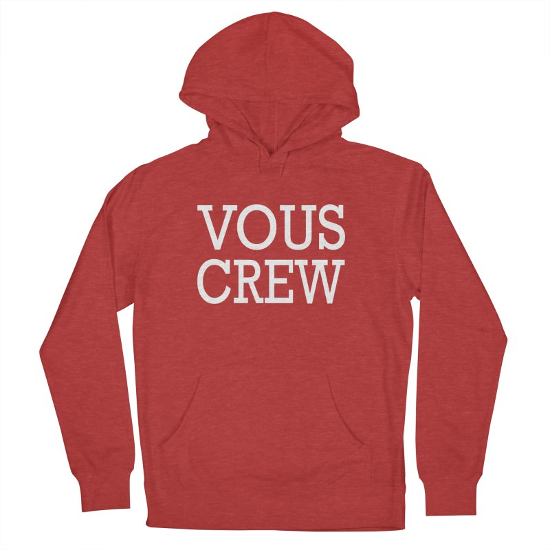 Vous Crew Men's French Terry Pullover Hoody by The Final Boss