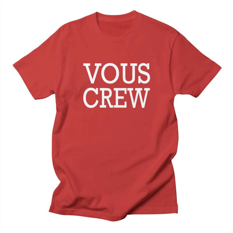 Vous Crew Men's Regular T-Shirt by The Final Boss