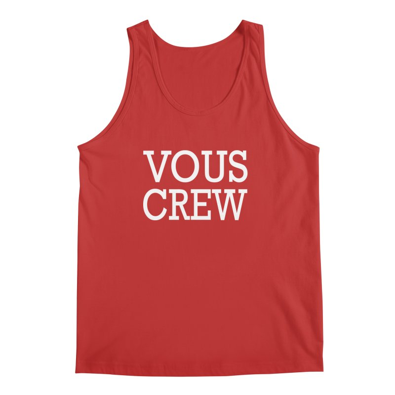 Vous Crew Men's Regular Tank by The Final Boss