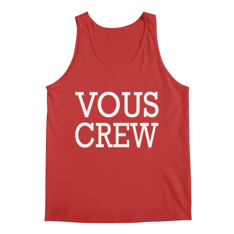 Vous Crew Men's Regular Tank by The Final Boss