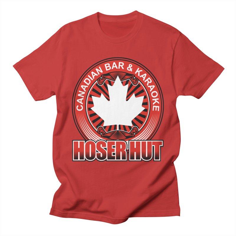 Hoser Hut Men's T-Shirt by The Final Boss