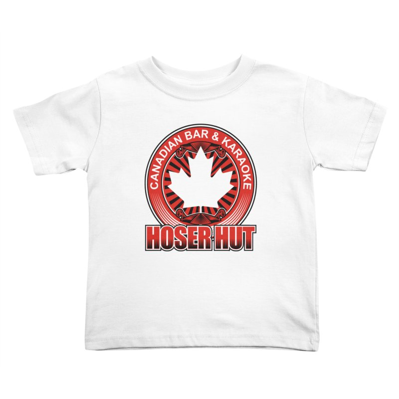 Hoser Hut Kids Toddler T-Shirt by The Final Boss